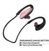 AWEI AWEI Bluetooth Oortjes met NFC en IPX4 Waterproof - Rosé Goud