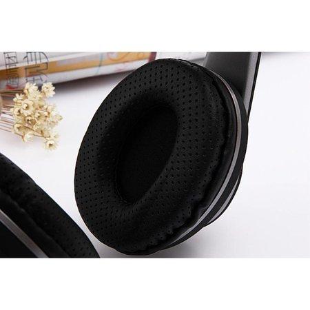 KR-211B Bluetooth Over-ear Koptelefoon - Zwart
