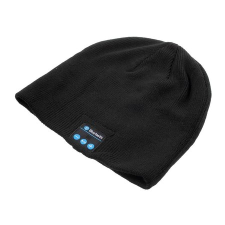 Muts met Bluetooth Oortjes + Touchscreen Handschoenen