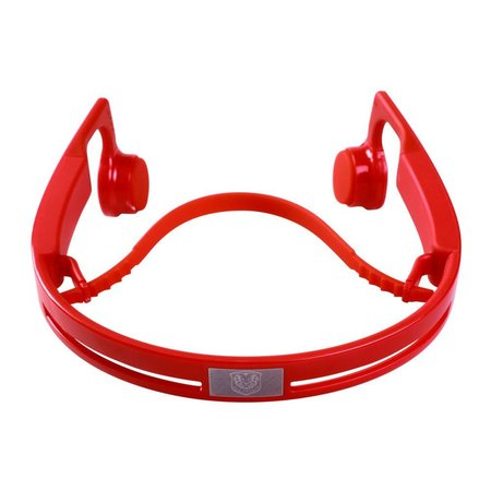 Bluetooth Oordopjes met Bone Conduction - Rood
