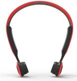 Bluetooth Oordopjes met Bone Conduction - Rood / Zwart