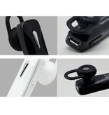 Draadloze Headset met Built-in Microfoon - Zwart