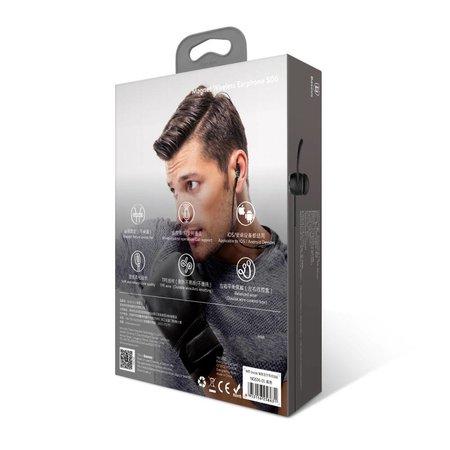 BASEUS BASEUS Encok Bluetooth In-ear Headphones - Zwart