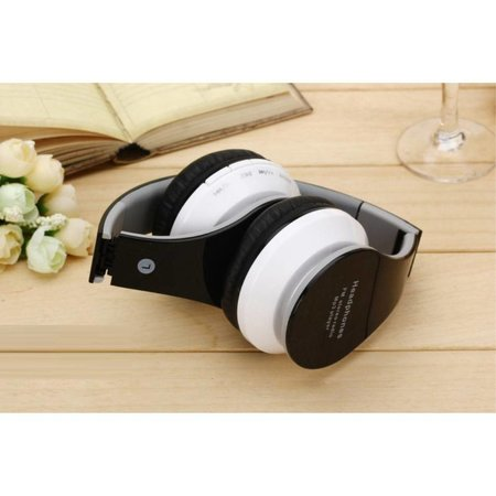 Mega Bass Over-ear Bluetooth Hoofdtelefoon - Zwart