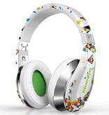 BLUEDIO BLUEDIO A (Air) Bluetooth 3D Sound Koptelefoon - Wit