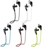 JAD JAD Q9 Sport Bluetooth 4.0 In-ear Oortjes - Rood