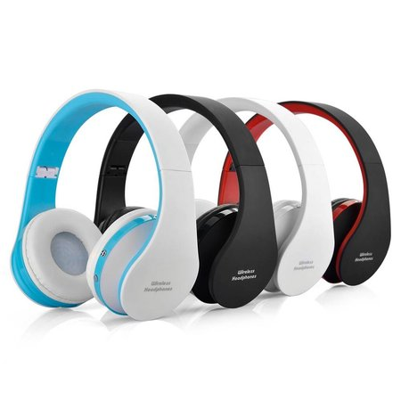 NX-8252 Opvouwbare Bluetooth Over-ear Koptelefoon - Wit