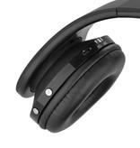NX-8252 Opvouwbare Bluetooth Over-ear Koptelefoon - Zwart