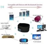 Fleece Bluetooth Hoofdband met Built-in Oortjes - Donkergrijs