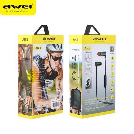AWEI AWEI AK3 Sport Bluetooth Headphones - Donkerblauw