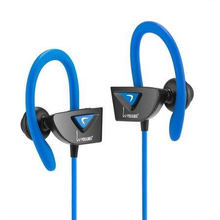 VEGGIEG VEGGIEG V8 Bluetooth Sport Headphones - Blauw