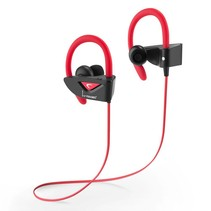 V8 Bluetooth Sport Headphones - Rood