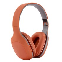 Opvouwbare Over-Ear Bluetooth Koptelefoon - Oranje