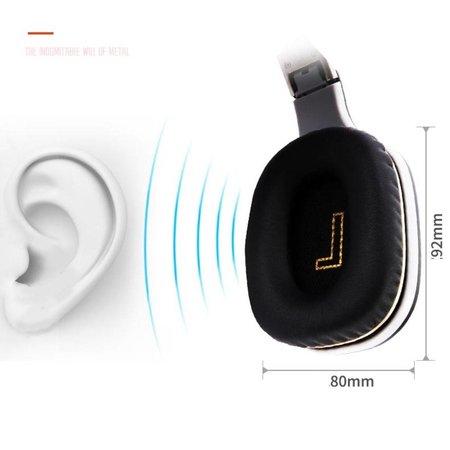 Opvouwbare Over-Ear Bluetooth Koptelefoon - Oranje