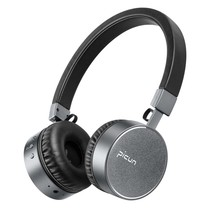 P10 Bluetooth On-Ear Koptelefoon - Zwart / Grijs