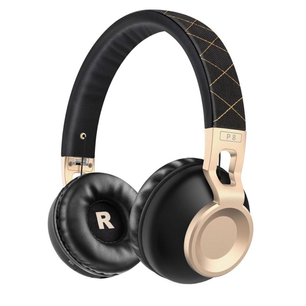 PICUN PICUN P8 Over-ear Bluetooth Hoofdtelefoon - Zwart / Goud