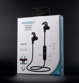 AMW-50S Magneet Bluetooth Headset - Zwart