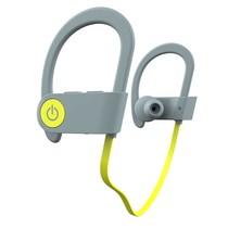 Sport Bluetooth 4.1 In-Ear Oordopjes - Grijs / Geel
