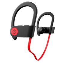 Sport Bluetooth 4.1 In-Ear Oordopjes - Zwart / Rood