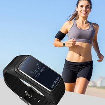 Smart Polsband + Bluetooth Headset (2-in-1) - Zwart