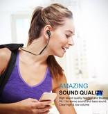 S91 Bluetooth Sport In-ear Oordopjes - Zwart