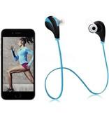 G6 Bluetooth Sport In-ear Oordopjes - blauw/zwart
