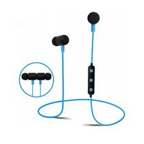 BT777 Bluetooth Sport Oortjes met Handsfree functie - Zwart/blauw