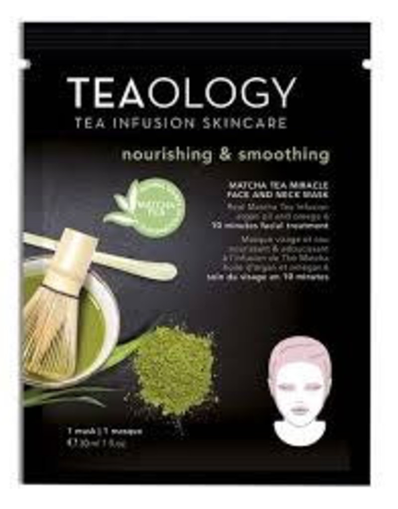 Teaology Matcha Tea Miracle Face and Neck Mask