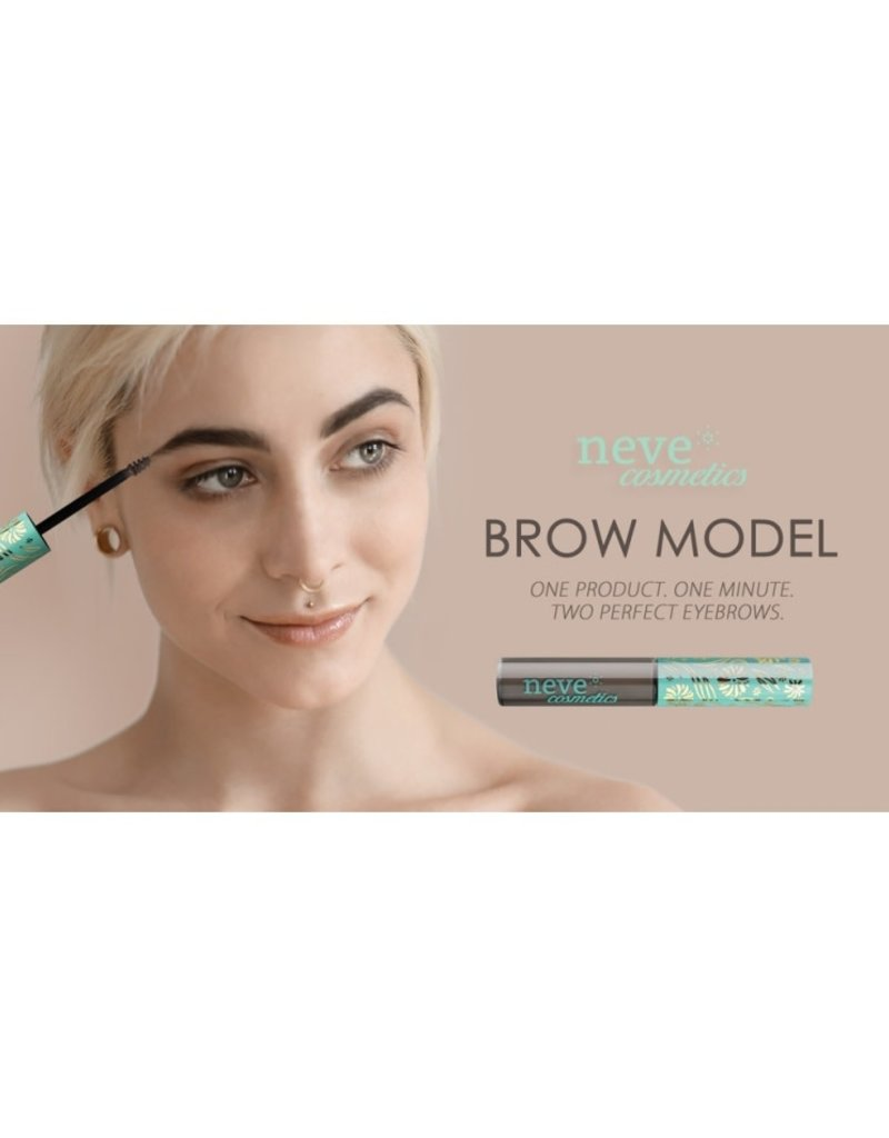 Neve Cosmetics Brow Model