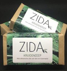 Zida Compacte haarzeep op basis van kruiden