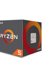 AMD CPU  Ryzen 5 1600X / 6core / AM4 / BOX / 3.6-4GHz / Boxed