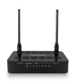 Eminent EM4710 draadloze router Dual-band (2.4 GHz / 5 GHz) Gigabit Ethernet Zwart