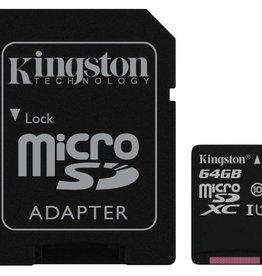 Kingston Technology Canvas Select flashgeheugen 64 GB MicroSDXC Klasse 10 UHS-I