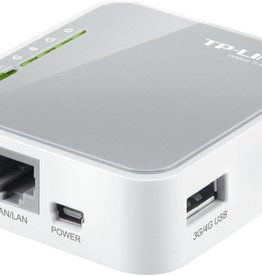 TP-Link TP-LINK TL-MR3020 Single-band (2.4 GHz) Fast Ethernet 3G 4G Grijs, Wit draadloze router