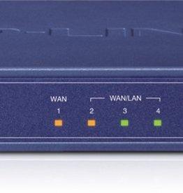 TP-Link TP-LINK TL-R470T+ bedrade router Ethernet LAN Blauw