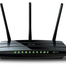 TP-Link TP-LINK Archer C7 Wi-Fi Ethernet LAN Dual-band Zwart