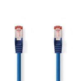 Nedis CCGP85221BU10 netwerkkabel 1 m Cat6 S/FTP (S-STP) Blauw