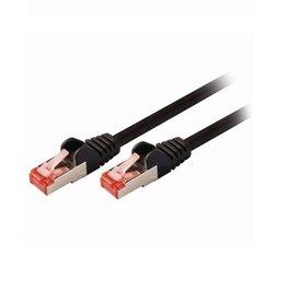 Nedis CAT6 S/FTP-netwerkkabel / RJ45 / 1.5m / Zwart