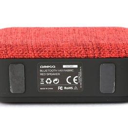 Platinet Omega OG58R draagbare luidspreker Zwart, Rood