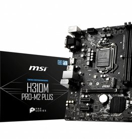 MSI MB  H310M Pro-M2 + /1151 8th comp / m.2 / HDMI / mATX
