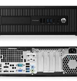 Hewlett Packard HP Elite 800 G1 DESK i5-4570 / 8GB / 240GB / DVD / W10P (refurbished)