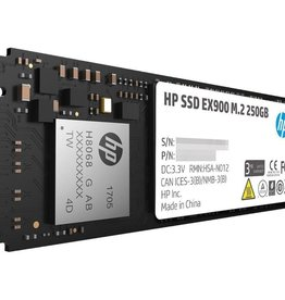 Hewlett Packard SSD HP EX900 250GB NVMe 2100MB/s read 1300/MB/s