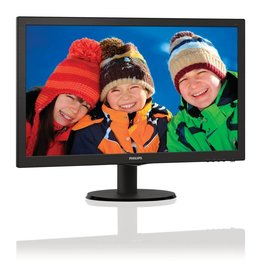 Philips TFT  23.6Inch 243V5LHAB / F-HD / DVI / HDMI / SPK