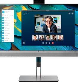 "Hewlett Packard MON HP EliteDisplay E243m LED 23.8"" F-HD Flat Zwart, Zilver (hoogte verstelbaar)"