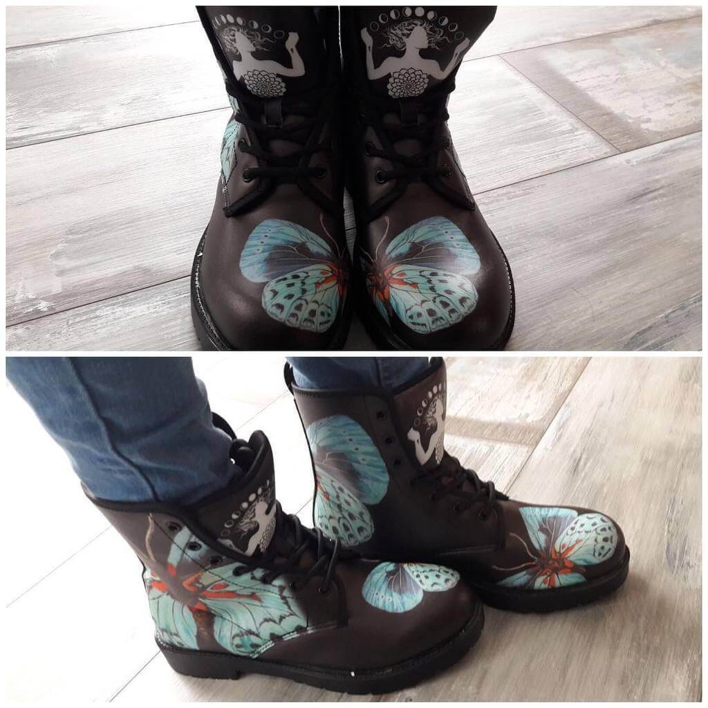 Noa Knafo Boots Butterfly