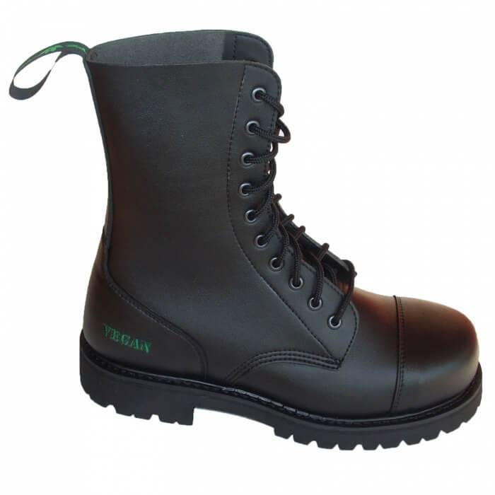 NAE vegan shoes Vegan Werkschoen met stalen neus B-Gun