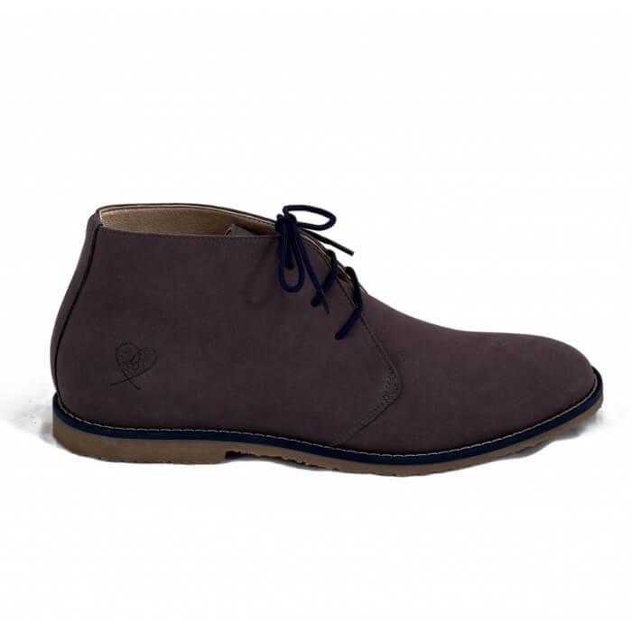 NAE vegan shoes Herenschoen Lagos Grey