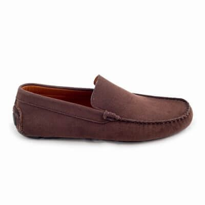 NAE vegan shoes Instapper Heren Solace Brown