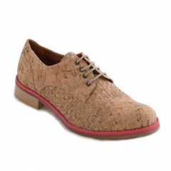 Vegan Veterschoen Diana Cork Pink
