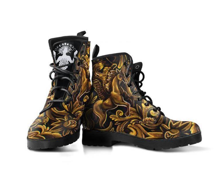 Noa Knafo Boots Golden Pineal Gland